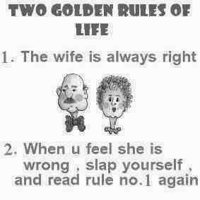 ROFL: The 2 Golden Rules of Life