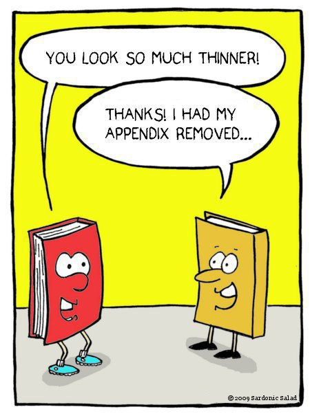book humor cartoon