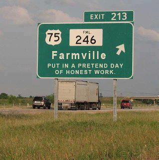 farmville joke sign