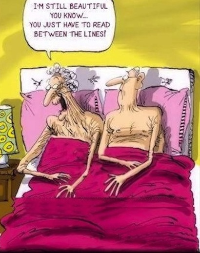 funny old people cartoon Hilarious Cartoon Joke Pic   LMAO!!