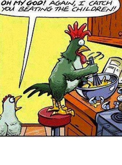 chicken joke cartoon