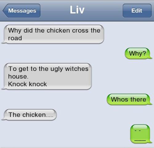 funny texting jokes