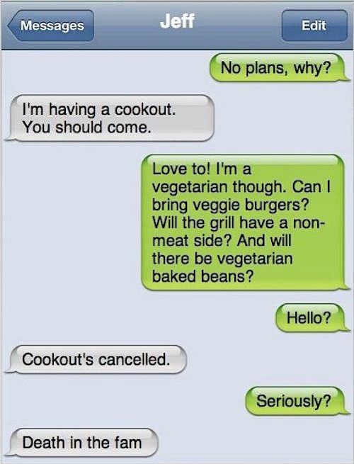 funny friend text message
