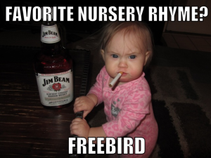funny baby pic
